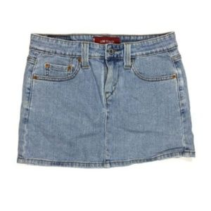 Levi's Strauss Junior 1 R Low Slouch Jean Skirt